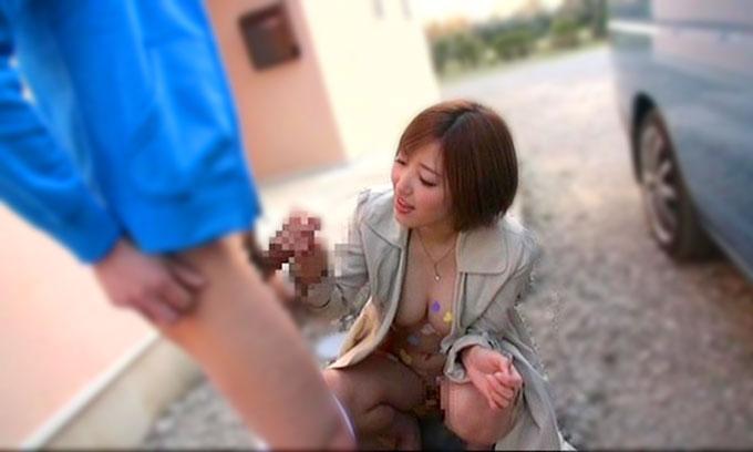 【痴女】水野朝陽|ショタ好き露出狂が野外でフェラ+家に連れ込んでメッシープレイ